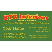 BTR Business Cards