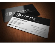 Fortis Premium Business Cards