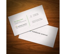Sand Embossed Business Cards