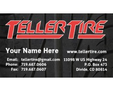 Teller Tire Business Cards