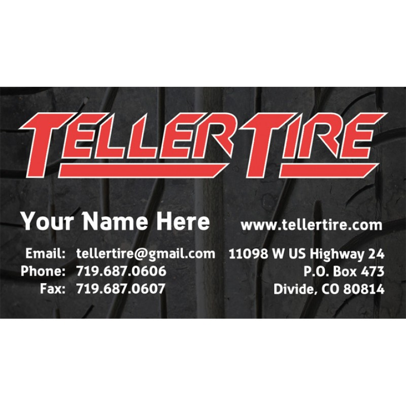 Teller tire business cards colourmoves